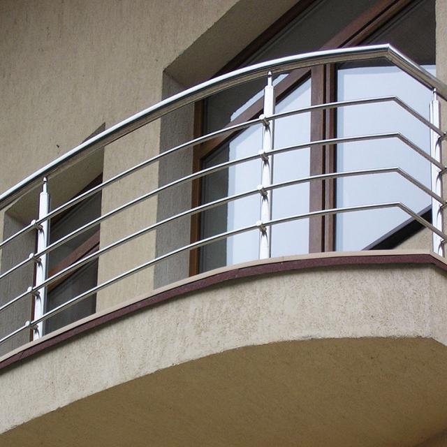 Балконне огорожу з нержавійки