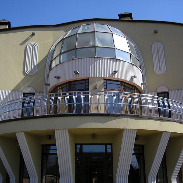 Балконна огорожа з нержавійки