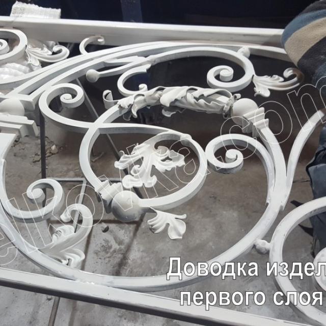 Фарбування кованих сходів