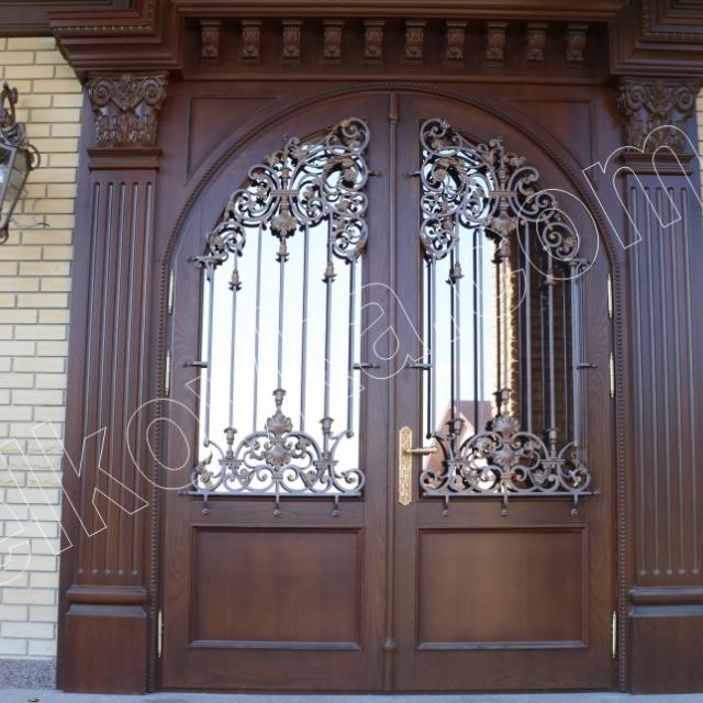 Ковані дверна фільонка