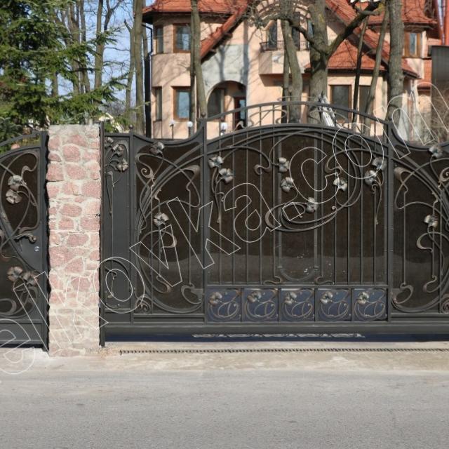 Ковані ворота модерн