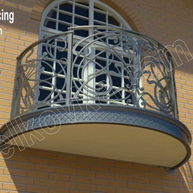 Проект балконного огородження