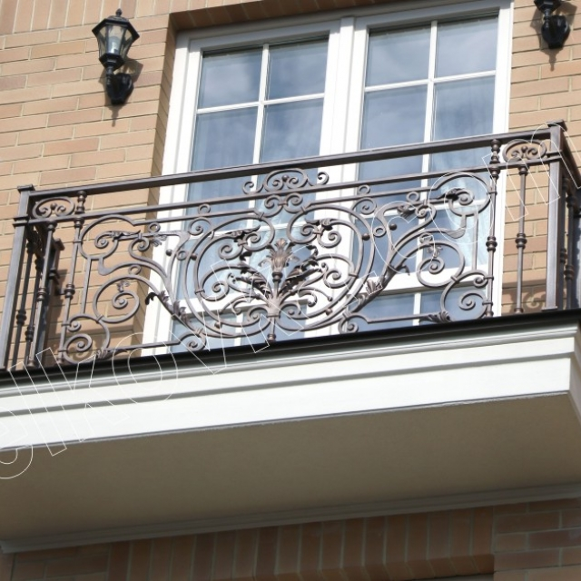 Кований французький балкончик