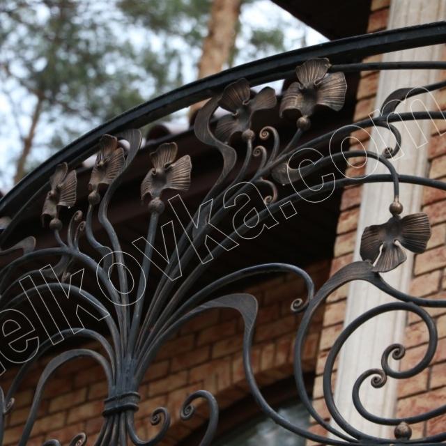 Легке кування на балкон