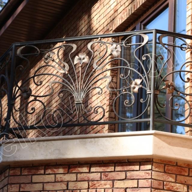 Балконне огородження кування