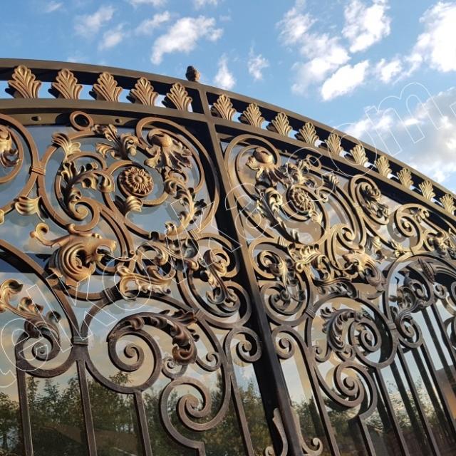 Ворота з полікарбонатом