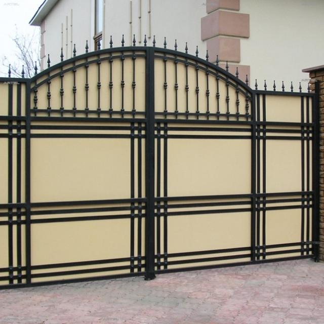 Ворота і хвіртка ковані