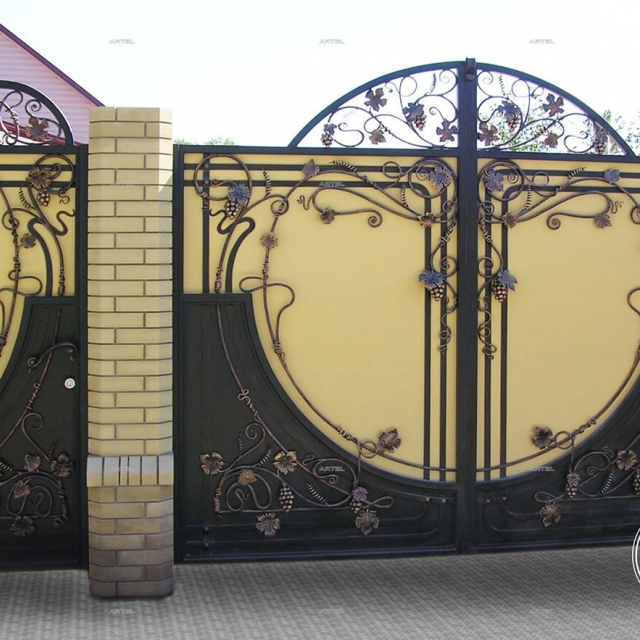 Ворота ковані орні