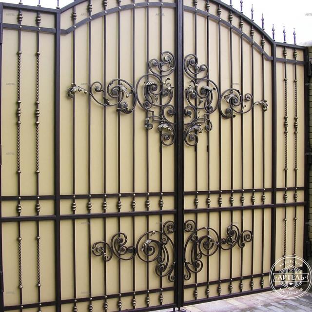 Ковані ворота орні