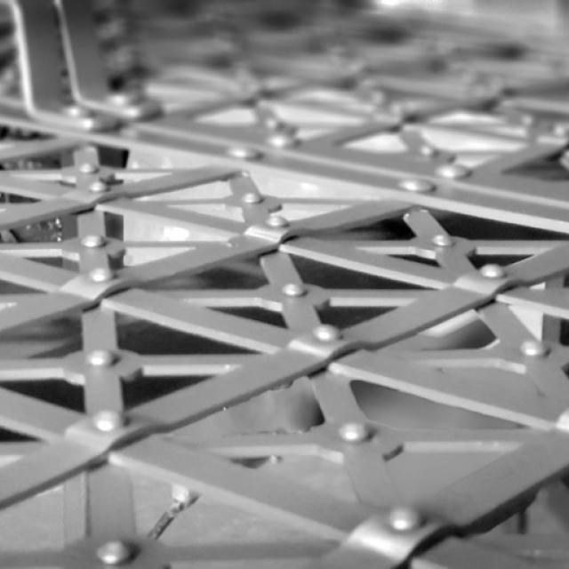 Сітка для меблів в стилі індустріальний дизайн