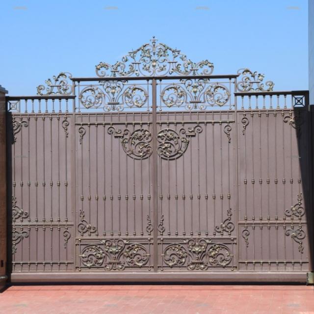 Ворота відкатні ковані