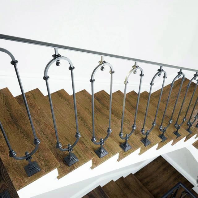 Сучасні сходи в будинку