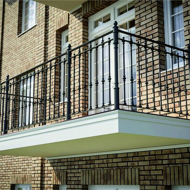 Балкон кований сучасний