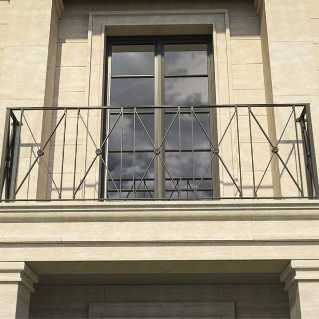 Балкон сучасного будинку