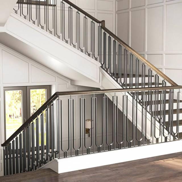 Стильні сходи в сучасному будинку