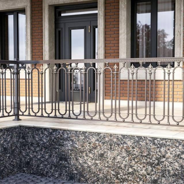 Перила тераси з металу