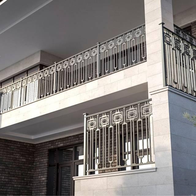 Поручні з металу для сучасного будинку