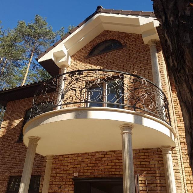 Ковані перила, балкони, меблі в Бучі
