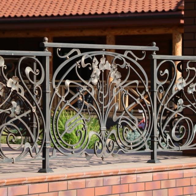 Ворота відкатні, балкони, огорожі, навіси Крюківщина Київська область